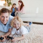 dad-girl-carpet-video